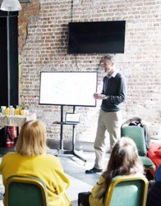 Talks at Covent Garden Community Centre