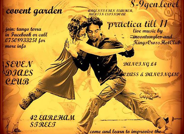 Tango at Seven Dials Club